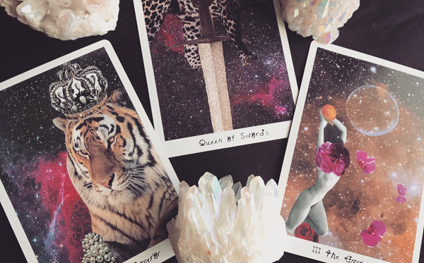 The Lioness Oracle Tarot Deck Cards Portland Tarot Cards Pacific Northwest Local Shopping Crystals Magic Cards