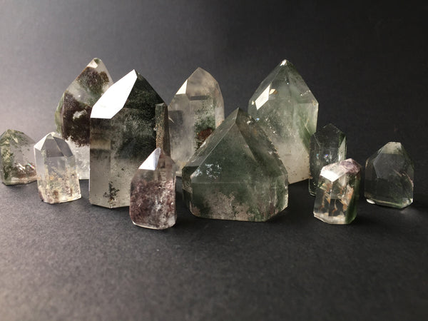 Altar PDX Chlorite Phantom Crystals Connecting with Earth Nature to Facilitate Self-Healing