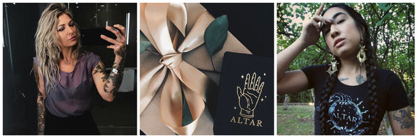 Shop Portland Local Altar PDX Product Giveaway Jewelry Fashion Store credit giveaway prize contest instagram competition instafashion social media prizes gift certificate $100 magic photography boutique handmade local
