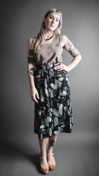 Shop Local Portland Altar PDX A Line Dress Make It Good Apparel Black Skirt
