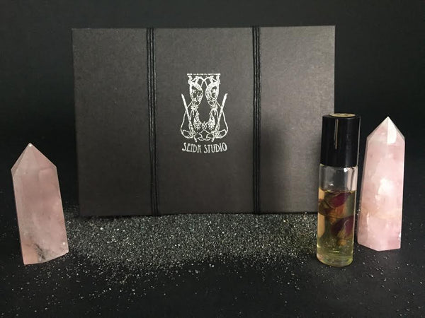 Seidr Studio Scented Oils Box Portland Local Body Oils Perfume