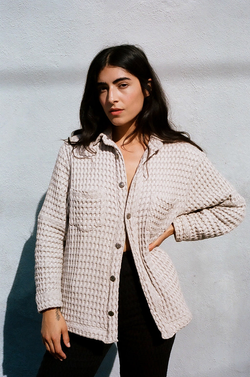Julian Jacket in Natural