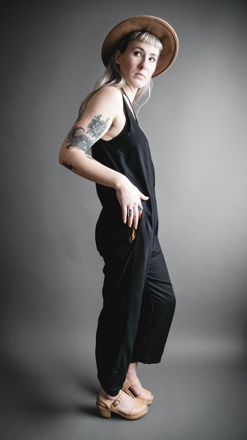 Black Houseline Jumpsuit, Apparel, Altar Houseline - Altar PDX