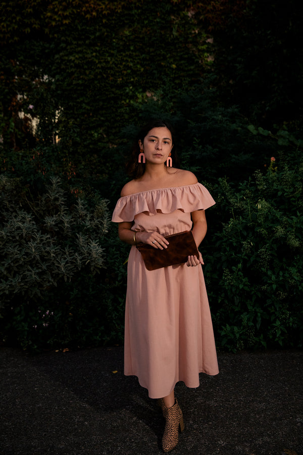 Aniela Dress in Blush