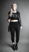 Soothsayer Crop Top, T Shirt, ALTAR x Jen Parks - Altar PDX