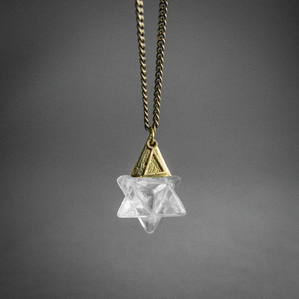 Ascension Stone Necklace - Clear Quartz