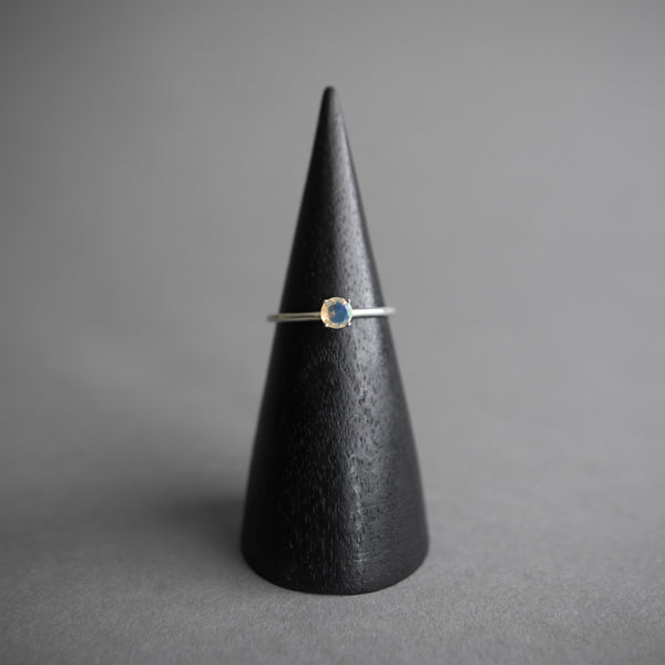 Faceted Round Opal Ring, Jewelry, The BEA Line - Altar PDX