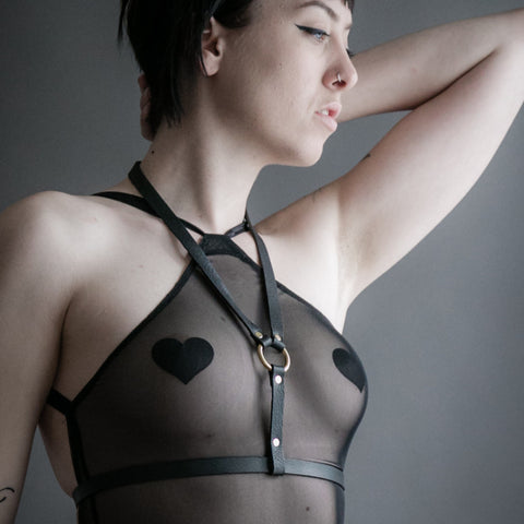 Black Lola Harness
