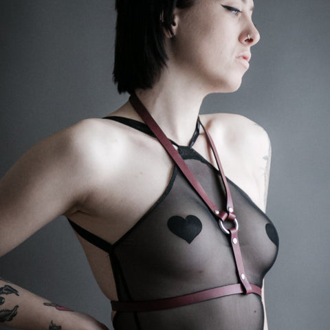 Oxblood Lola Harness