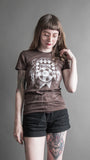 'Mind/Thought' Brown Tee