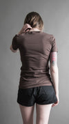 'Mind/Thought' Brown Tee, T Shirt, Brian Uhl - Altar PDX