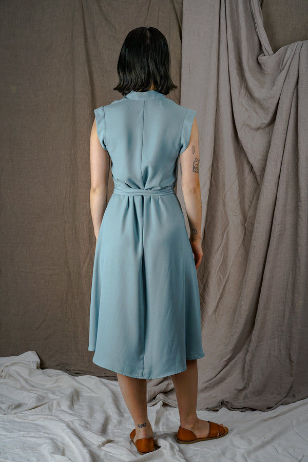 Seafoam Wrap Dress