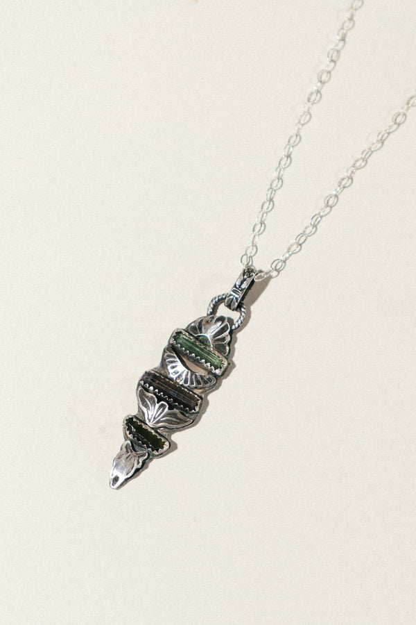 Triple Tourmaline Necklace