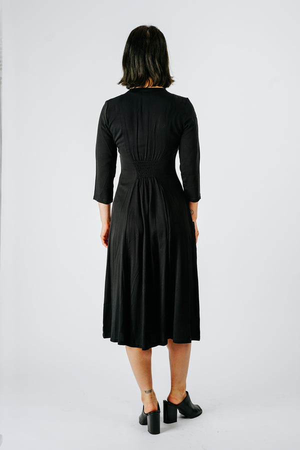 Fiona Dress in Black