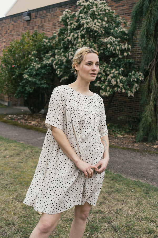 Mini Marin Polka Dot Dress