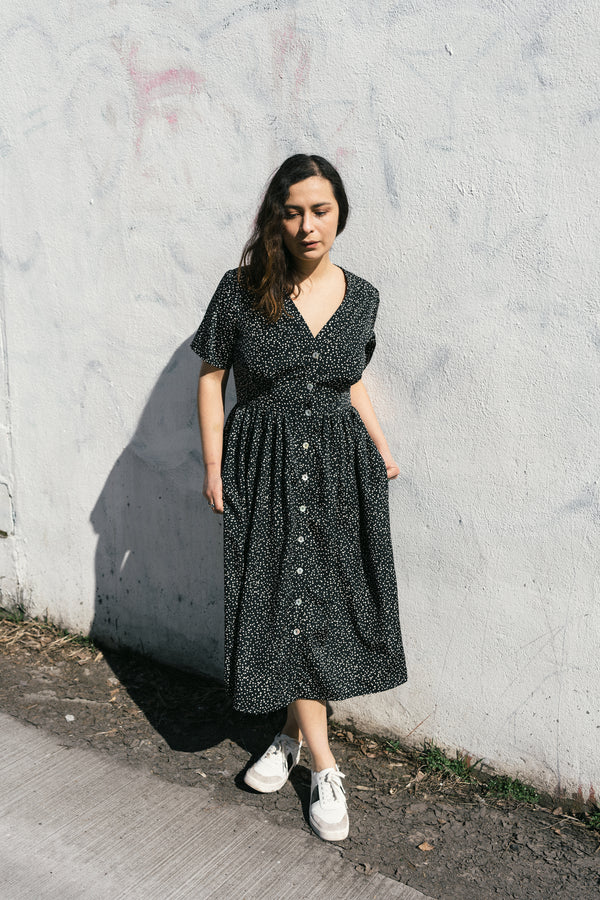 Olivia Dress in Nightsky