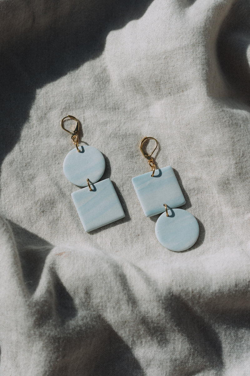 Mira Earrings in Cloudbursting