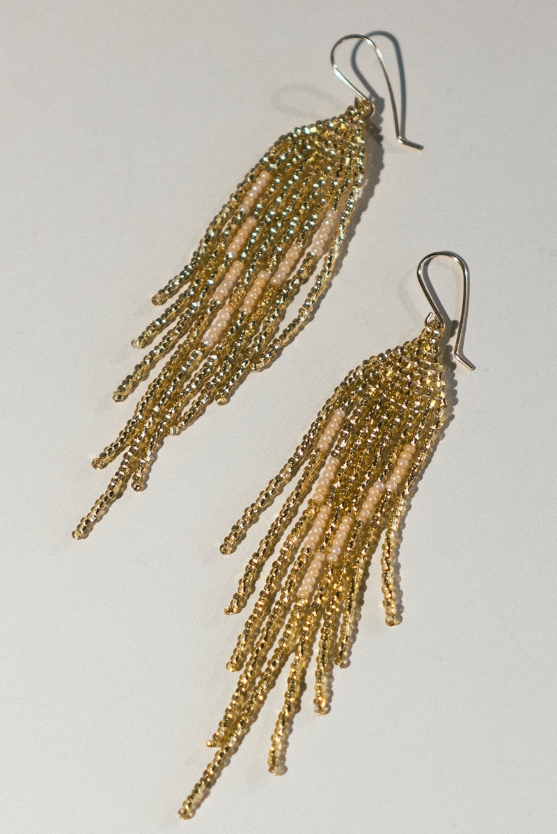 Disco Fringe Earrings