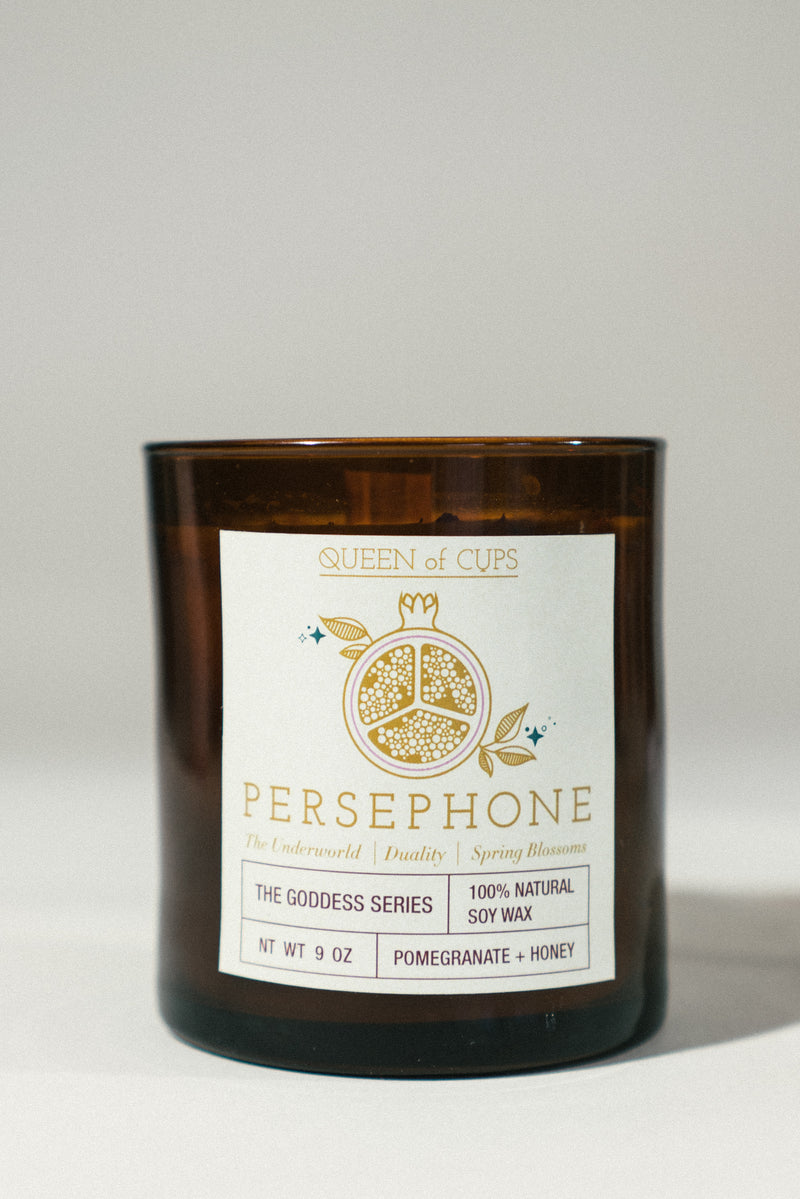 Persephone Candle- Pomegranate + Honey