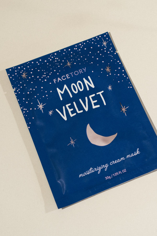 Moon Velvet Sheet Mask