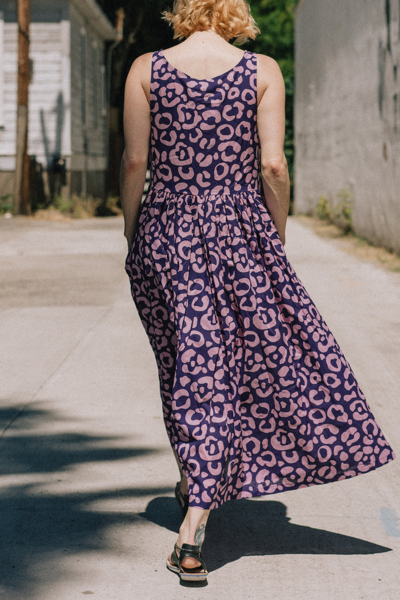 Naomi Cheetah Spot Dress