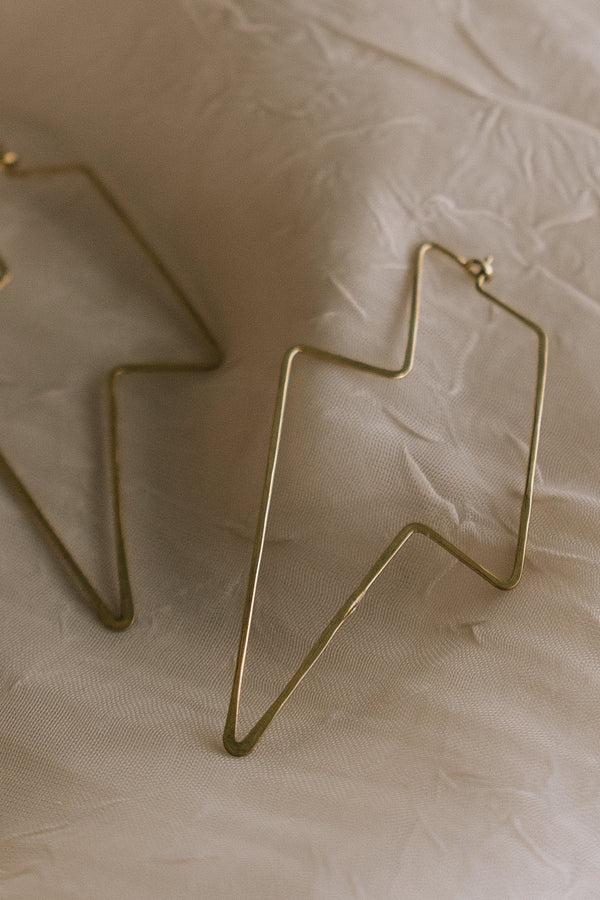 Bowie Hoop Earrings
