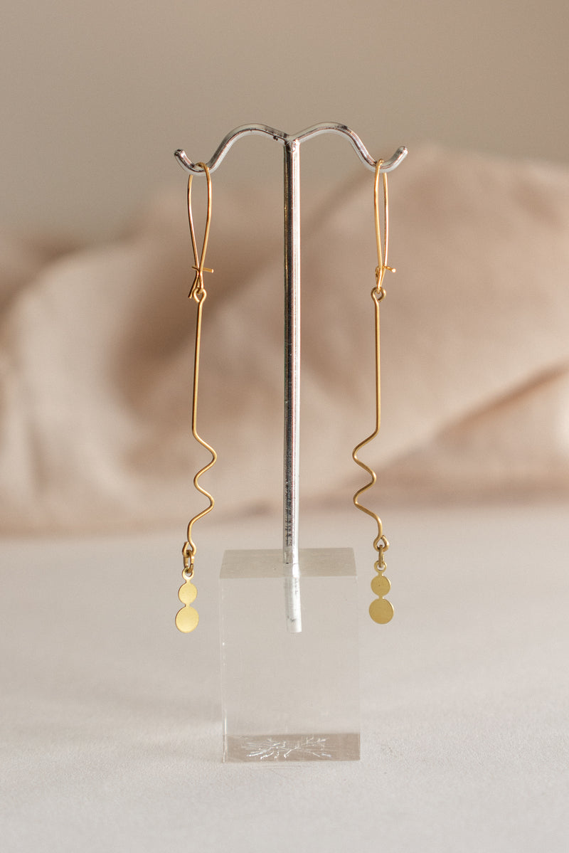 Squiggle Dot Earrings