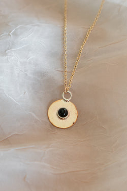 Onyx Aurora Charmer Necklace