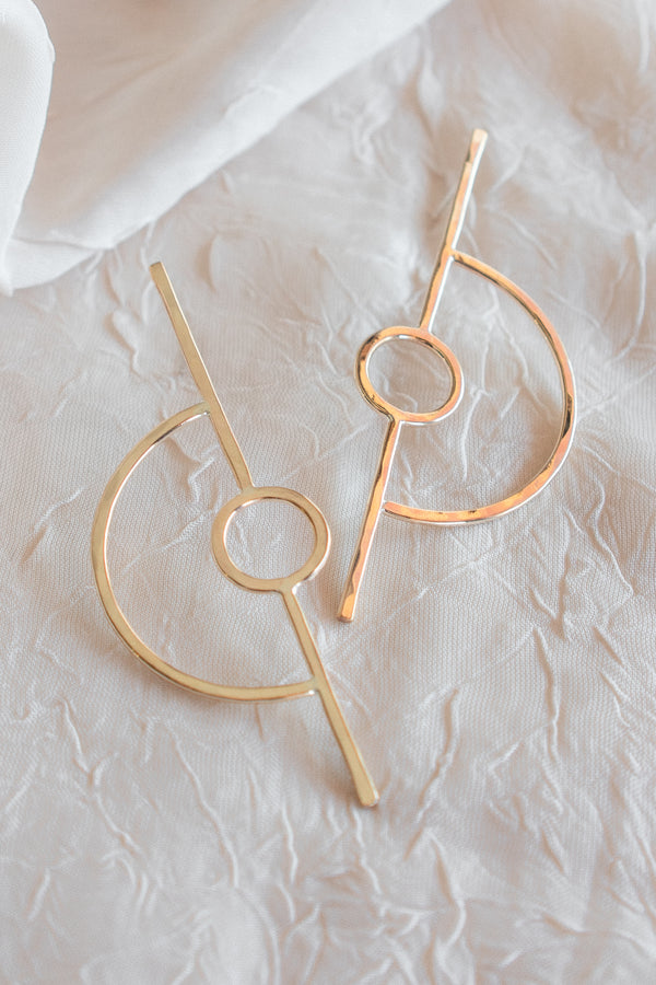 Europa Orbit Earrings
