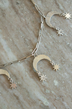 Moon Scale Necklace