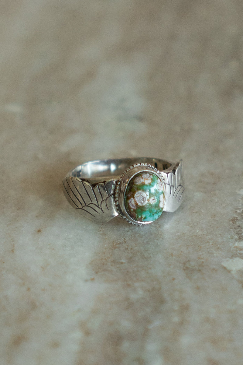 Turquoise Harpy Ring