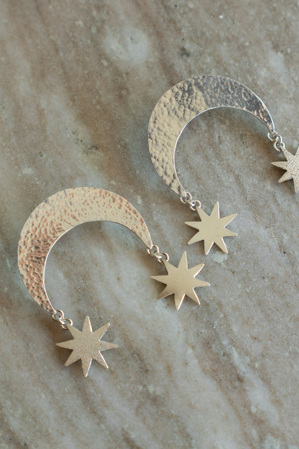 Moon Scale Earrings