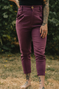 Electric Violet Perfect Pant