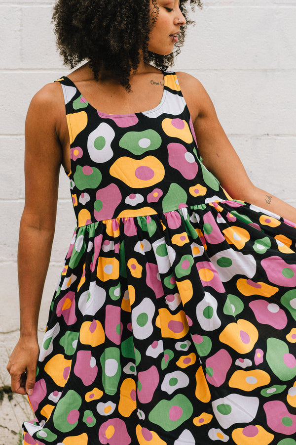 Naomi Egg Print Dress*LAST CHANCE*