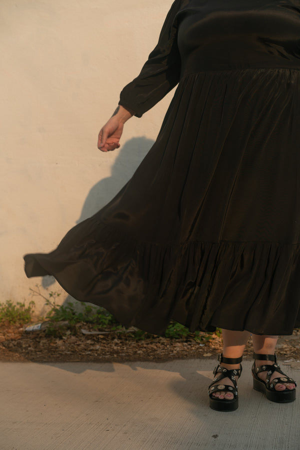 Aurora Dress in Black + *FINAL SALE*