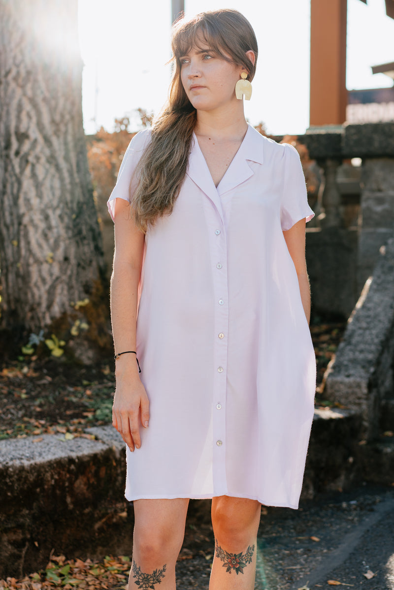 Gerty Dress in Lavender