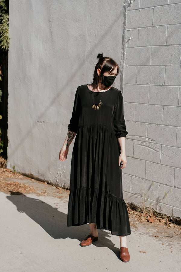 Aurora Dress in Black
