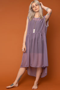 Lavender Baby Doll Dress