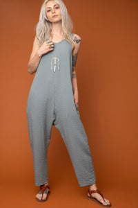 Astoria Blue Jumpsuit