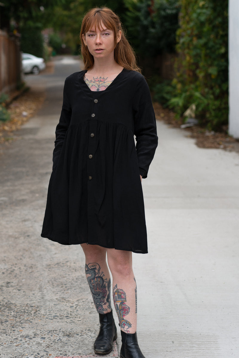 Niah Dress in Black
