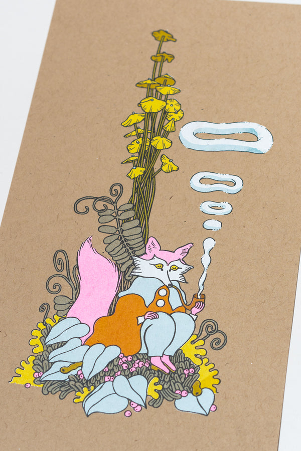 Smoking Fox