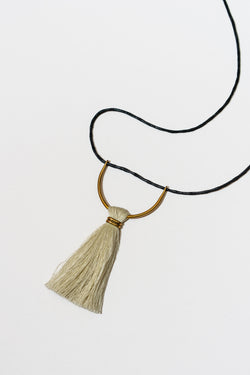 Corded Umbra Necklace