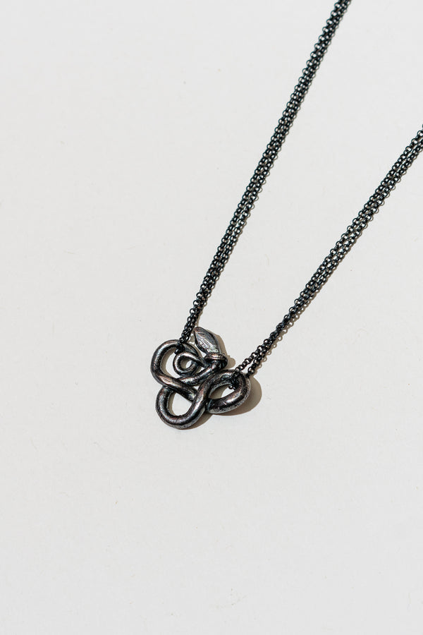 Snake 2 Necklace (Tail Around Neck)