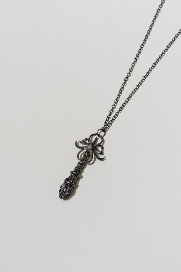 Inverted Torch Necklace