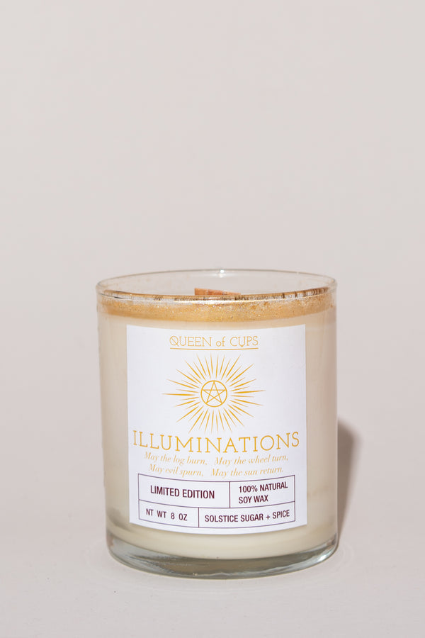Illuminations Candle - Solstice Sugar + Spice