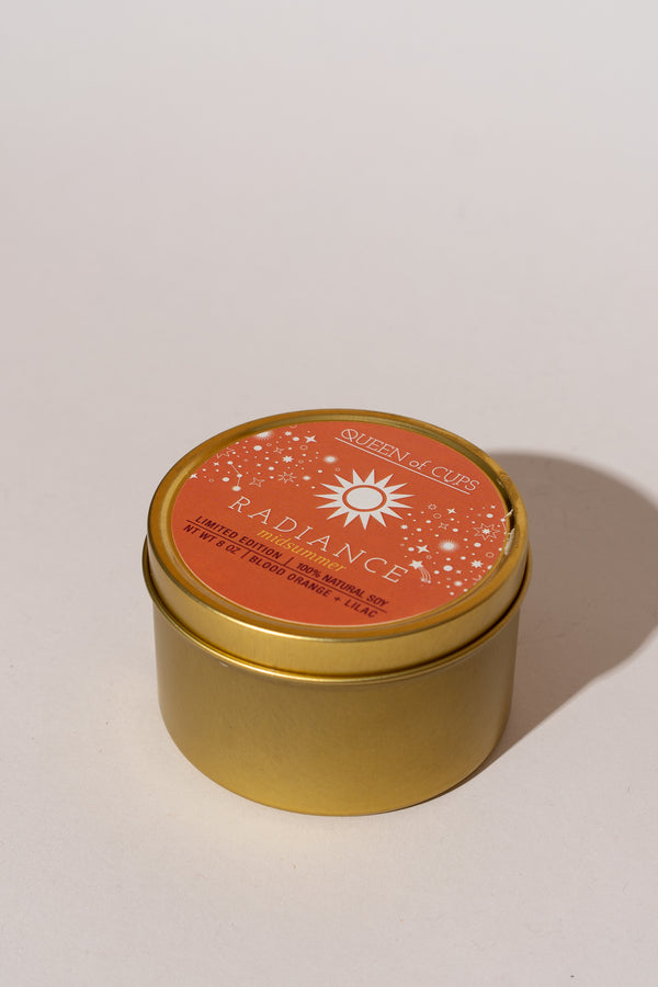 Radiance Candle - Blood Orange + Lilac