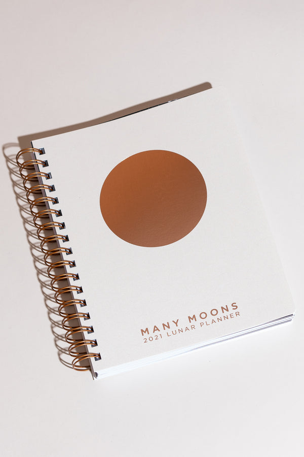 Many Moons Lunar Planner