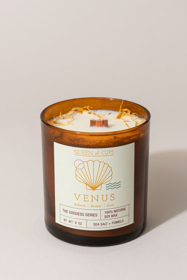 Venus Candle - Sea Salt + Pomelo