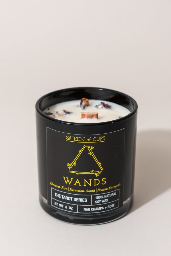 Wands Candle - Nag Champa and Rose
