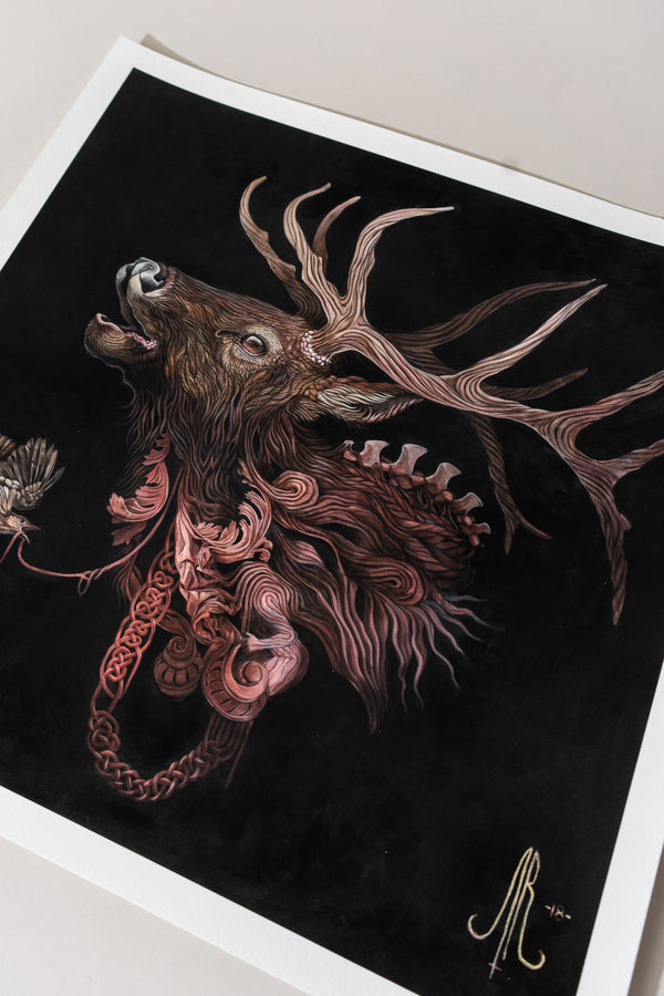 God of the Hunt Print